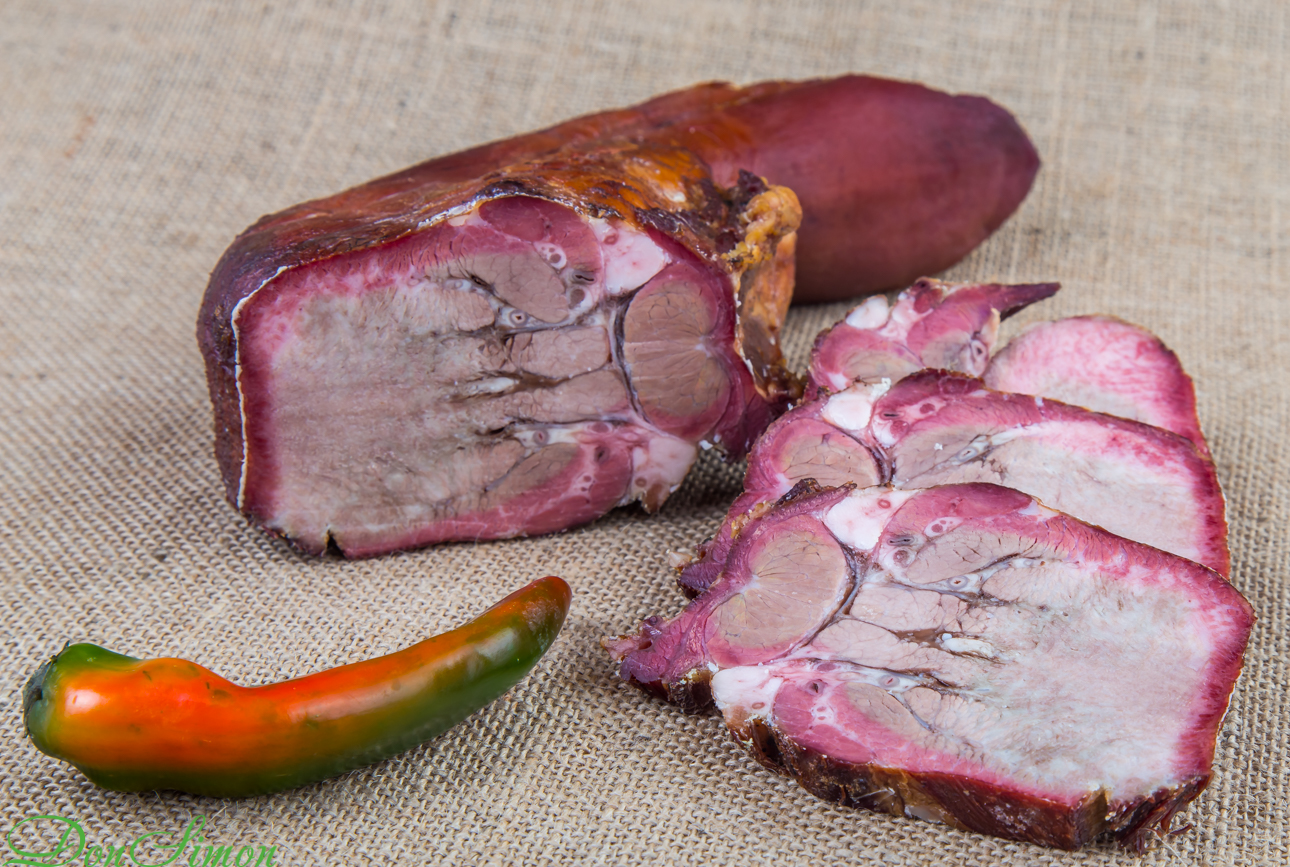 Smoked tongue