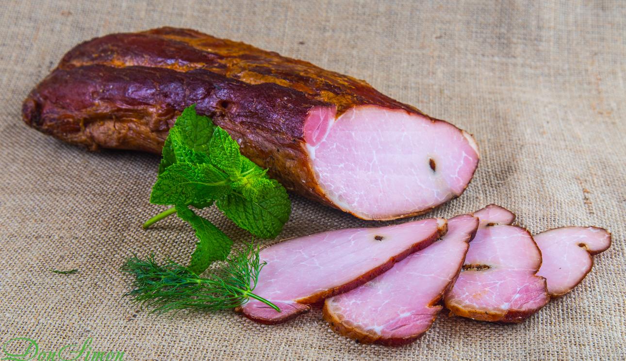 Копченая свиная корейка
