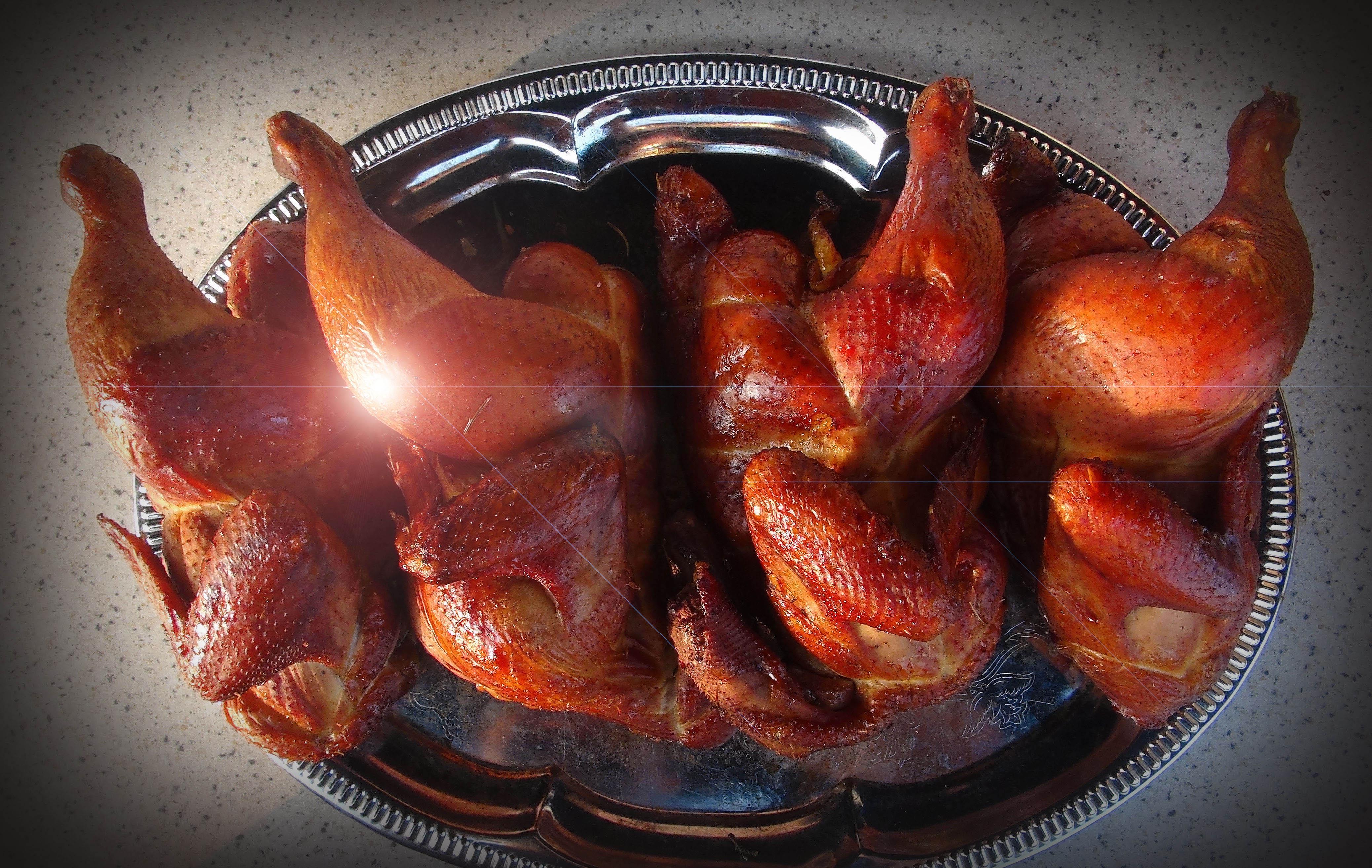 Коптить курицу в домашних условиях фото