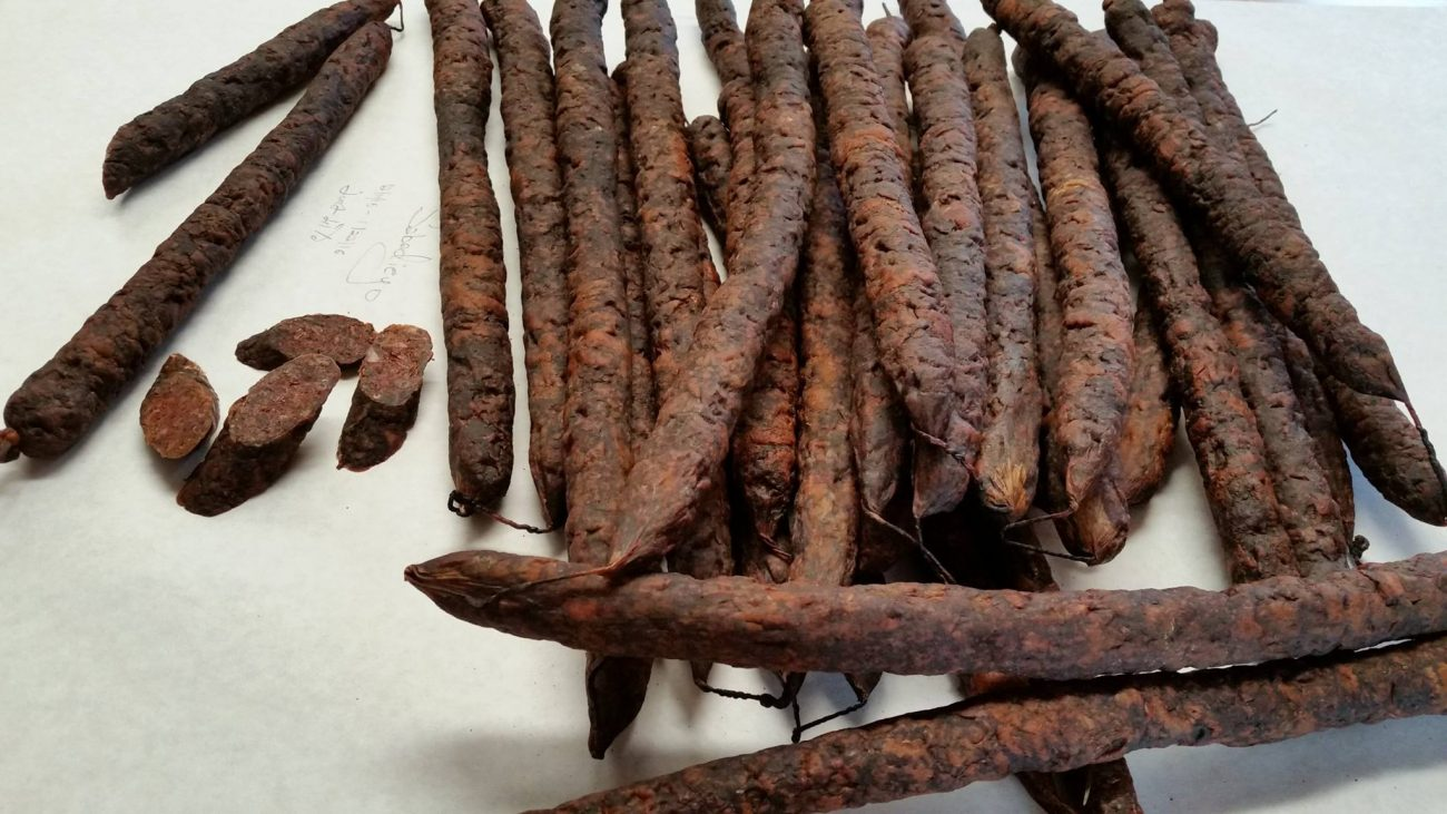 Сабадиего. Вяленая кровяная колбаса