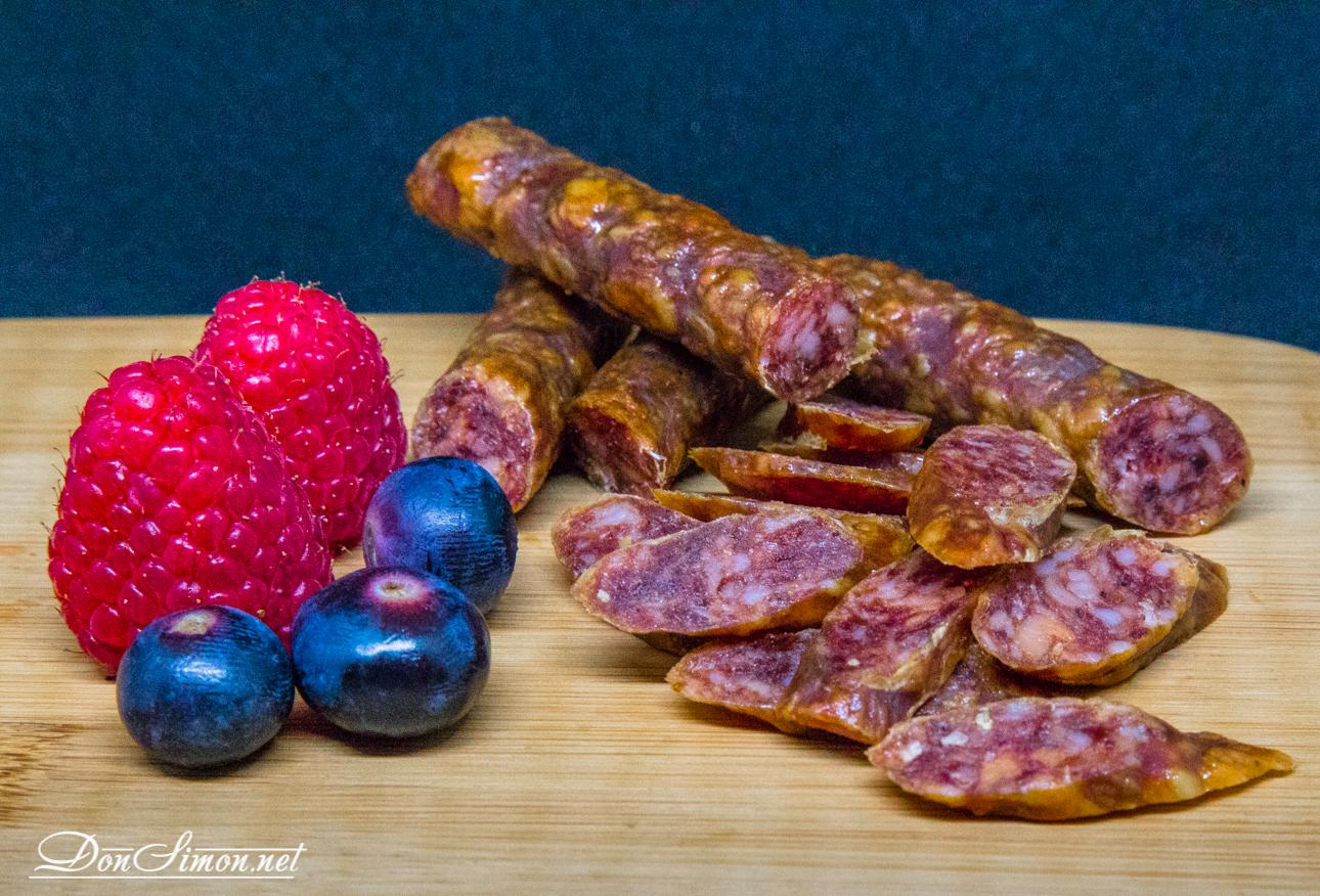 Колбаски тонкие длинные хрустящие