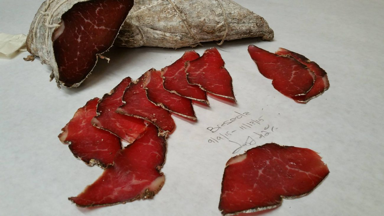 Spicy Bresaola