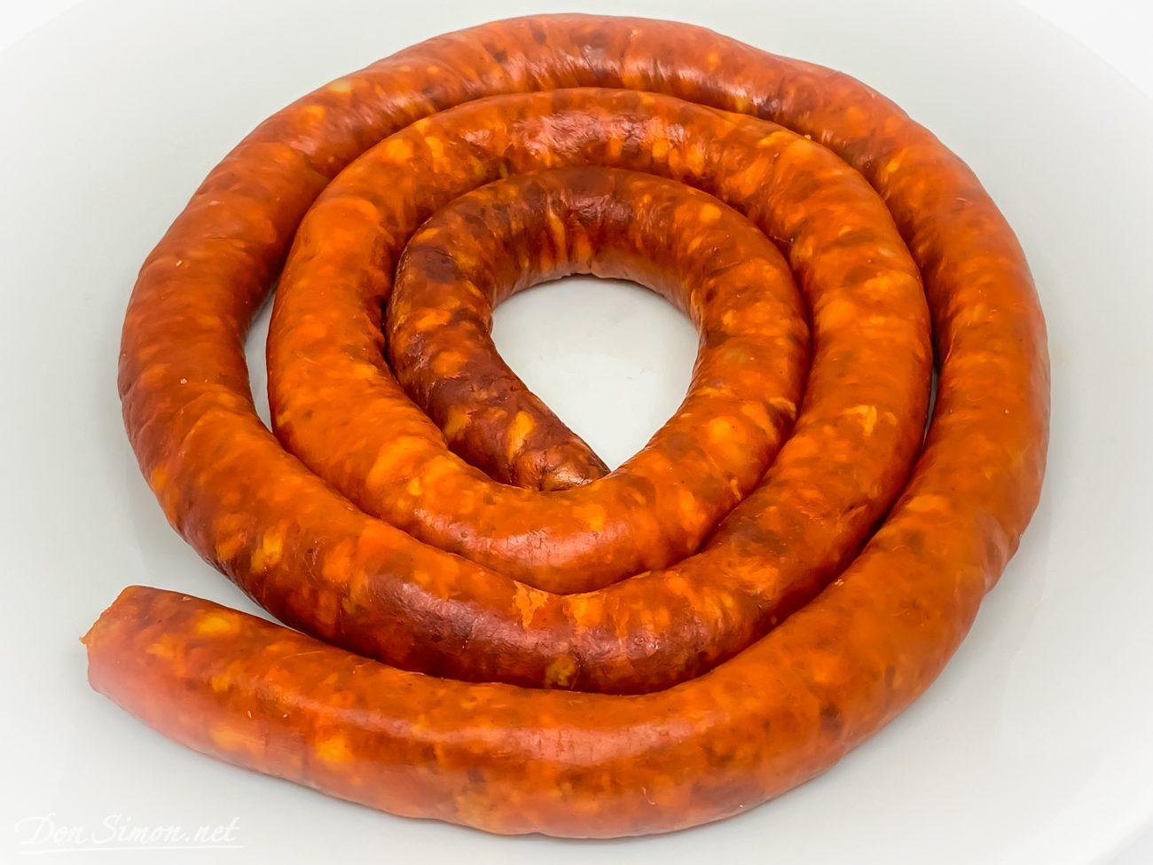 Чисторра – колбаса из Наварры